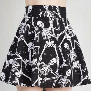 Feel Playful Skirt in Skeletons